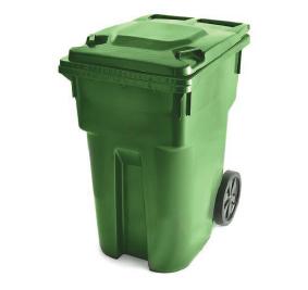 bac de recyclage sur roues